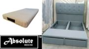Buy Miami - Storage Bed With Front Drawers And Latex Mattress In Singa
